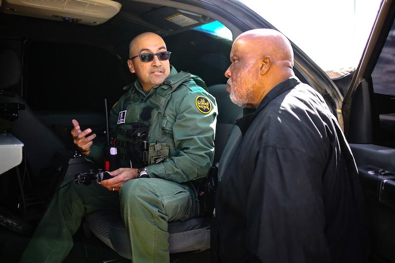 Congressman Bennie Thompson and Border Patrol - Mississippi Free Press