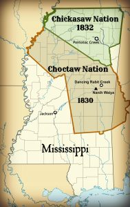 Chickasaw and Choctaw land cessions - Mississippi Free Press