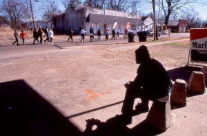 MLK Parade in Belzoni, Mississippi, in the Mississippi Delta in 1999