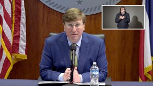 Mississippi Governor Tate Reeves COVID-19 - Mississippi Free Press