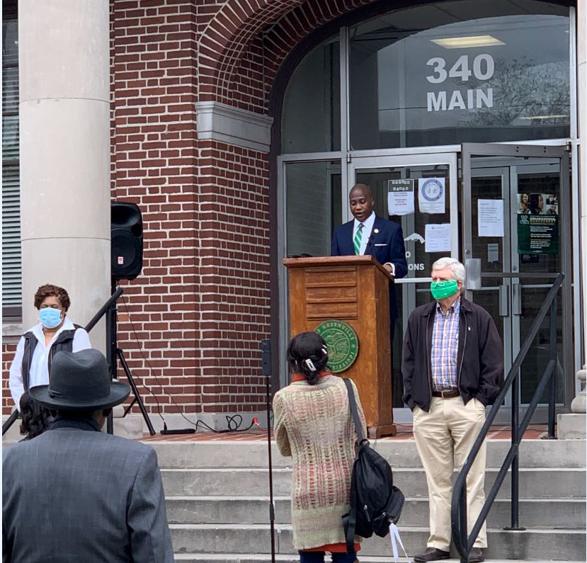 Mayor Simmons Press Conference - Closing Churches - Mississippi Free Press