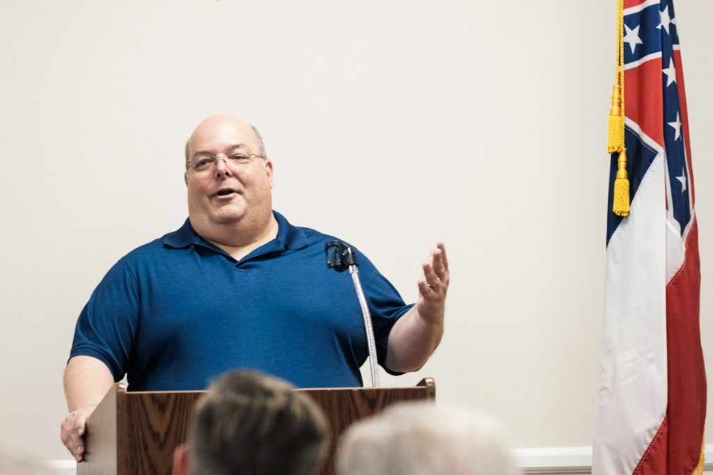 Petal, Mississippi, Mayor Hal Marx