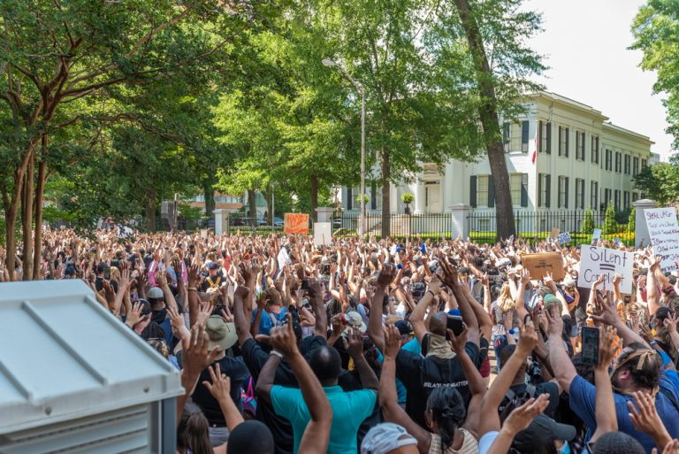 Black Lives Matter Protest - Mississippi Free Press