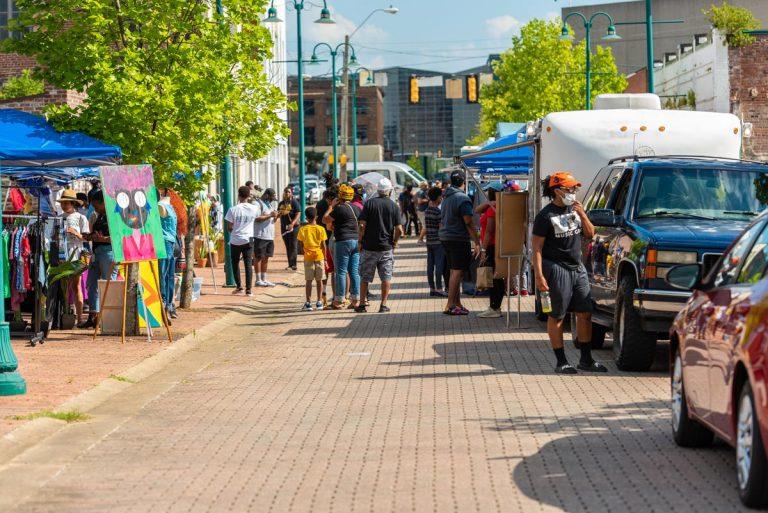 Black Joy As Resistance Festival on Farish Street; June 19, 2020