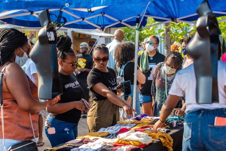 endor@ Black Joy As Resistance Festival on Farish Street; June 19, 2020