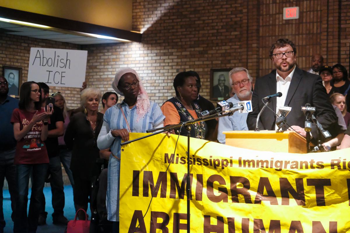 Robert Luckett - MIRA Rally - Mississippi Free Press