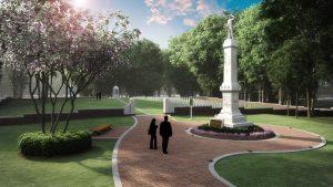 UM Confederate Cemetery Rendering