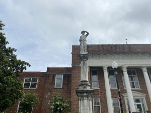 Confederate Statue at the Neshoba County Courthouse