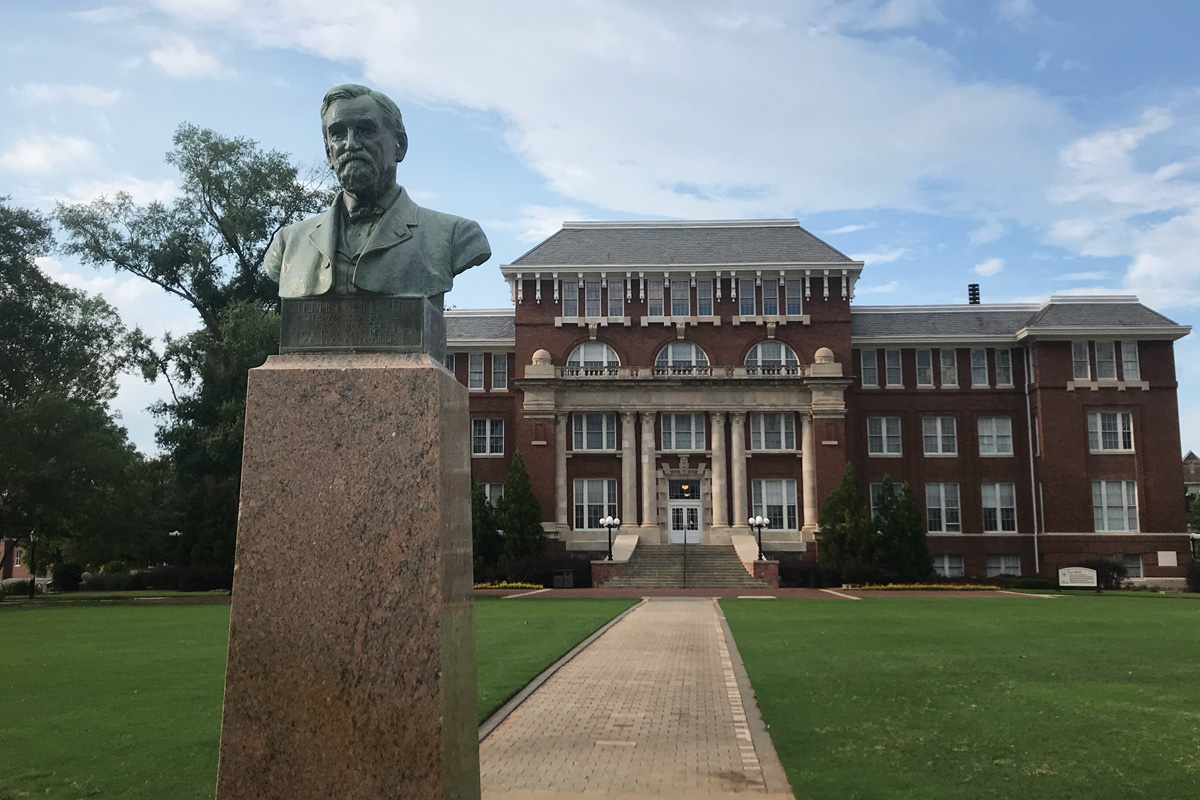 Stephen D. Lee bust at Mississippi State University