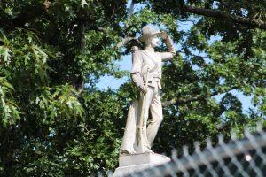 UM Confederate Soldier at Cemetery
