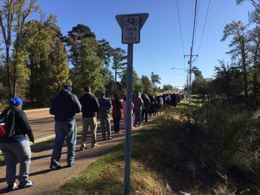 Long polling lines
