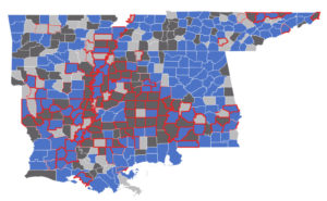 COVID-19 Kills Twice As Many In Mississippi's Poorest Counties—Areas Where Slavery Was Concentrated