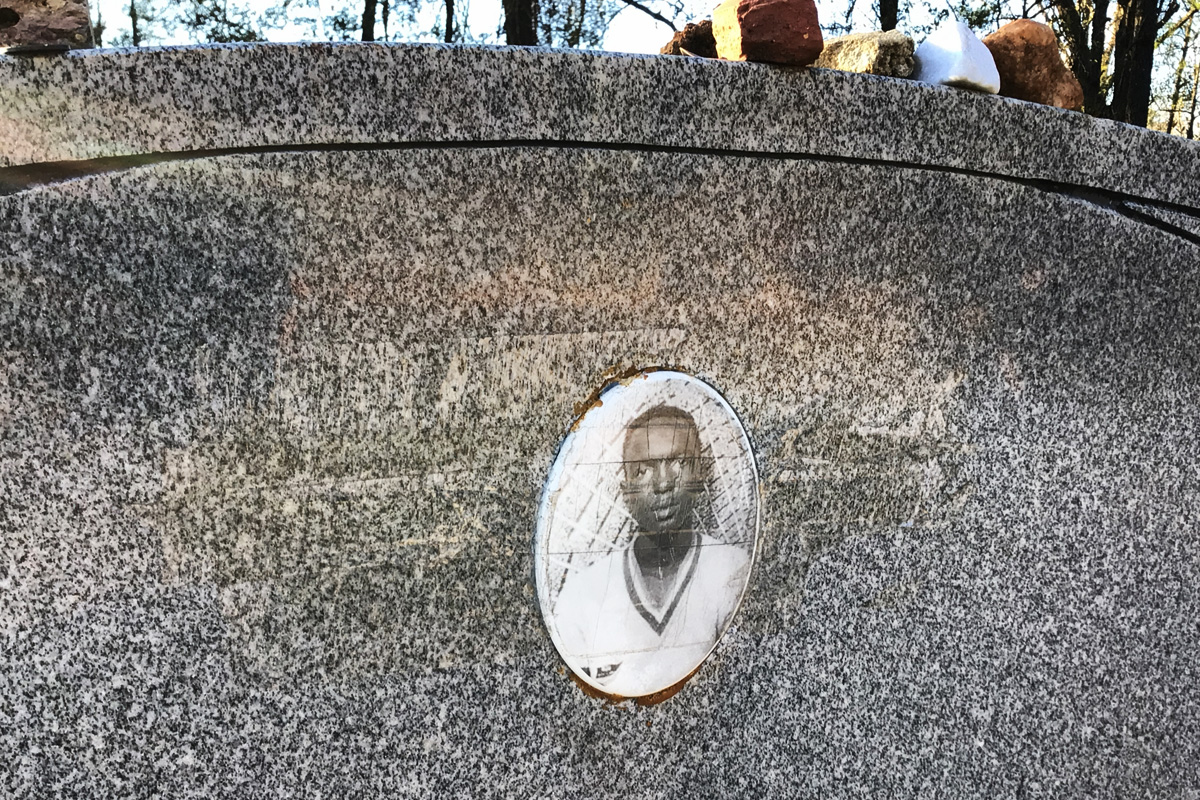 James Chaney tombstone