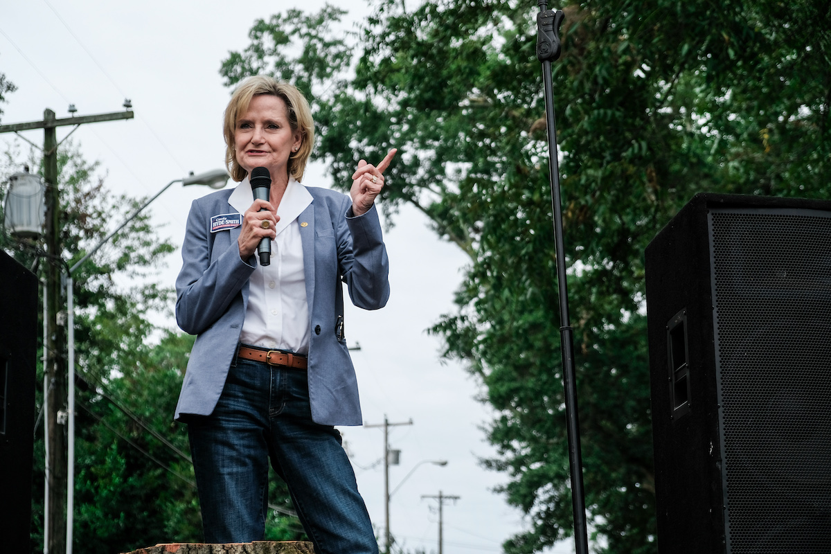 Cindy Hyde-Smith speaking