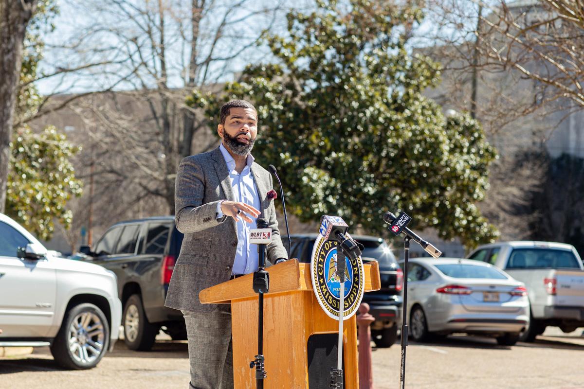 Chokwe A. Lumumba speaking