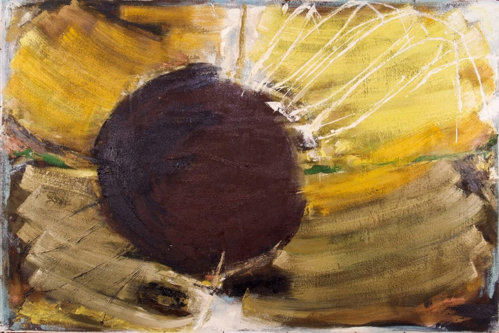 Dusti Bongé art piece, Sunflower Dream
