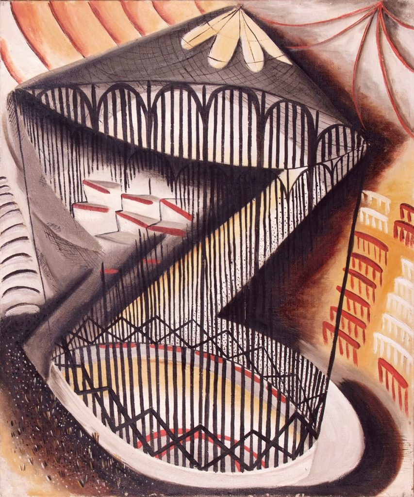 Dusti Bongé art piece, The Circus Cage