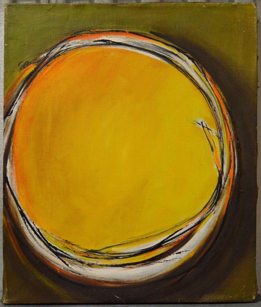 Dusti Bongé art piece, Void #4 (detail)