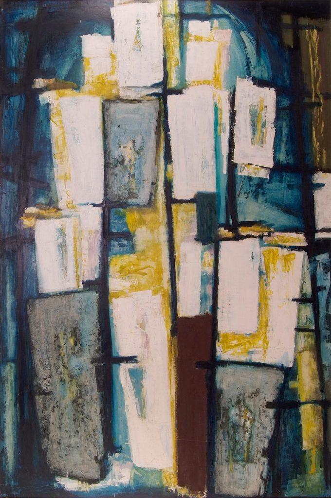 Dusti Bongé art piece, Windows
