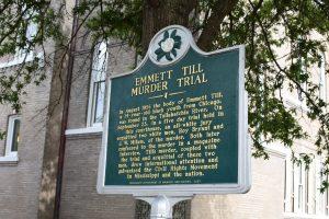 Emmett Till murder trial marker