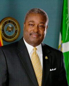 Portrait of Mayor Harvey Johnson