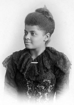 a portrait of Ida B. Wells