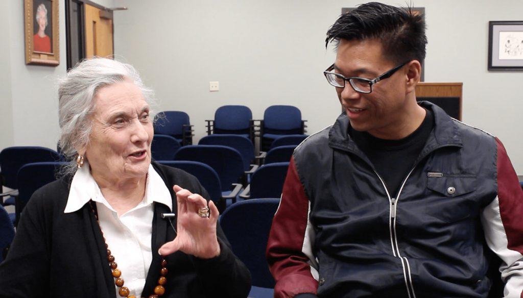 Joan Walton and Baldwin Chiu