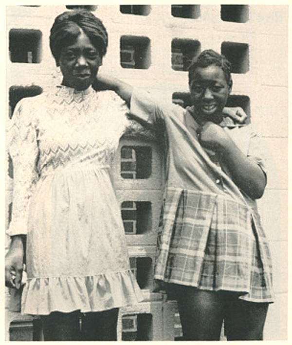 Mary Alice and Minnie Lee Relf