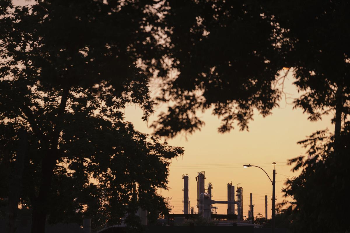 Valero Oil Refinery