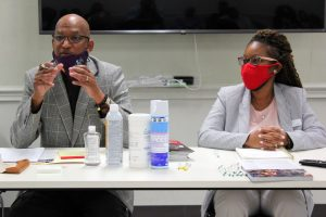 Hope Credit Union Vice President Dwight Rawls and Senior Credit Officer Danielle Ware